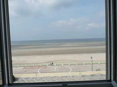 Photo for Super sea front duplex apartment 3rd étg calm comfort for 2 ** Baie de Somme Quend-Plage