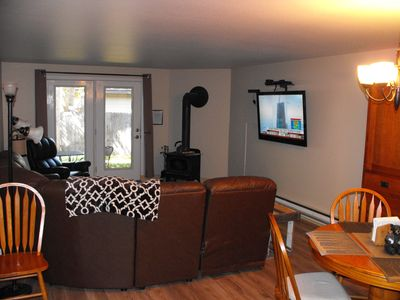 Photo for Walking distance to the lake, downtown, park and golf.