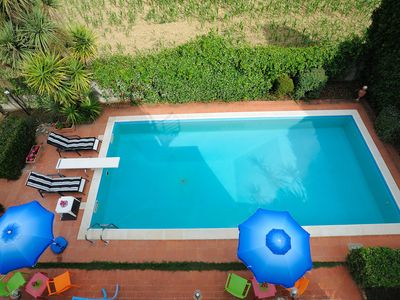Photo for Luxury Villa with Private Pool, Panoramic Views, Solarium Terrace, BBQ, Parking