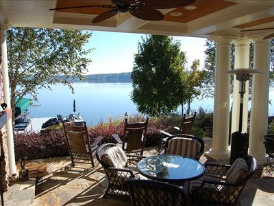 Photo for Waterfront Home at Lake Oconee with Pool, Spa, and private dock