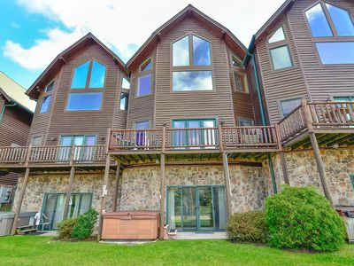 Photo for Cedar Shores  Villa #15- Lake Access Townhome in Central Deep Creek Lake