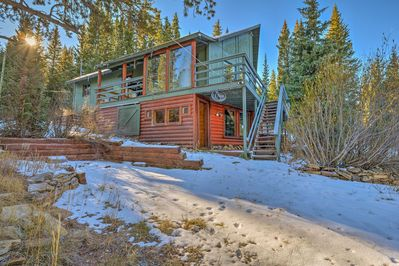 Your retreat begins at this 2-bedroom, 2-bathroom vacation rental cabin!