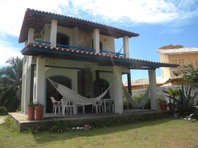 Photo for HOUSE FULLY IN FRONT OF THE SEA IN A CLOSED WITH HUGE AREA COND FREE
