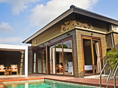 Photo for 2 BR Villa Private Pool near Echo Beach, Free shuttle service to Seminyak area