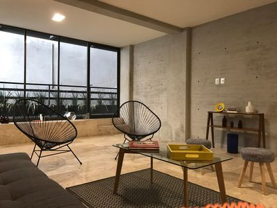 Photo for Condesa Amazing 3br 3.5bth Two story apartment