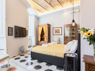 Photo for Stylish Open Space Ripa in Trastevere - for 2 people