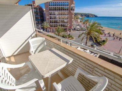 Photo for Club Villamar - Cozy apartment for 4 people on foot from the beach and stunning sea views