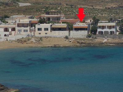 Photo for Beach-House between Marzamemi and Portopalo, Breathtaking view of the sea