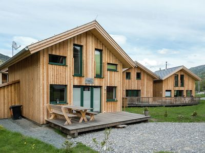 Photo for Luxury chalet with wellness centre and outdoor jacuzzi, located at the foot of the ski lift