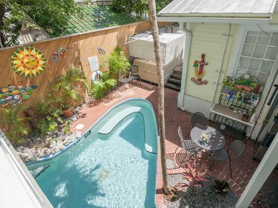 Photo for Ground-floor studio w/ shared heated pool - walking distance to everything!