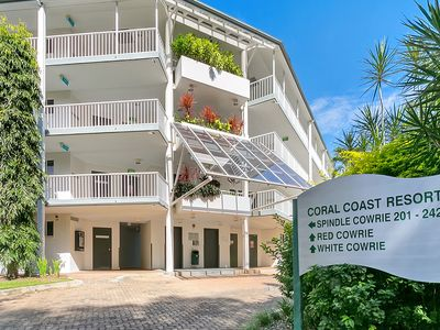 Photo for The Spindle Cowrie Apartment is located in the Coral Coast Resort, Palm Cove.