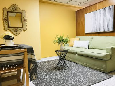 Photo for Like at Home! Super clean, private, cozy, central, 9 min from airport, parking.