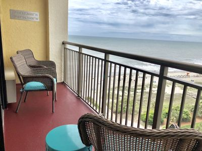 Photo for King suite with great ocean view. Great location! Lots of amenities!