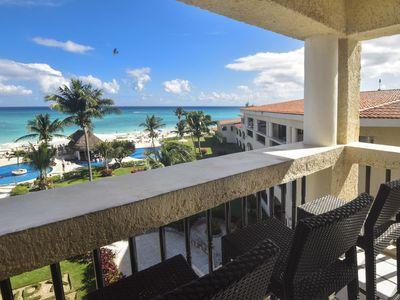 Photo for Penthouse Xaman Ha with Incredible Views! 2 Bedroom XH  7208