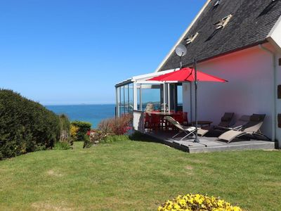 Photo for Villa 100 m from the sea with exceptional views of the bay of Perros-Guirec