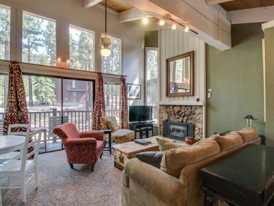 Photo for Well-decorated & modern home close to ski and lake access awaits!