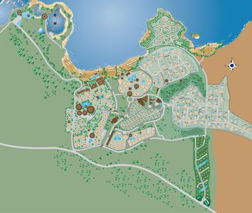 LHVC Resort with excellent faciliilities beaches, restaurants seaworld and pools
