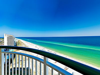 Photo for New Listing! Beachfront Condo w/ Pools, Balcony & Gulf Views - Steps to Beach