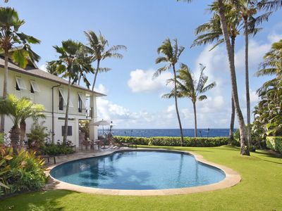Photo for Hale A Kai: Poipu Luxury with Private Pool, AC and Oceanfront!