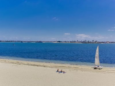 Photo for Bayfront - Mission Bay on Sand Panoramic View -Upscale