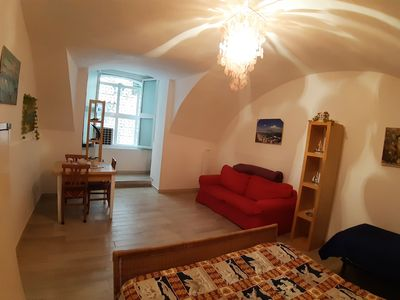 Photo for spacious STUDIO on the ground floor in the heart of NAPLES