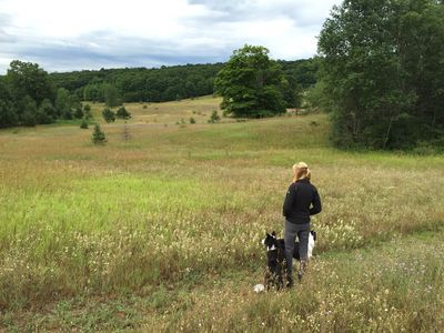70 Acres with 1.5 miles of Mowed Trails