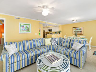 Photo for Spacious 2BR 2BA Condo with Bay Views; Bldg is loaded with Ammenities!