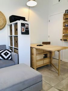 Photo for SMART POD/STUDIO close to airport, beach, MPT, Bluewater Crew, SeaSchool FLL