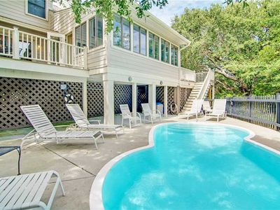 Photo for 15 Dunecrest- Quiet Location of Wild Dunes, Peaceful, Private Pool, Just 1 Minute Walk To Beach!