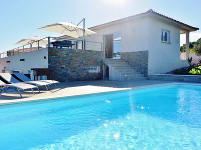 Photo for ** PROMOTION -10 % ** VILLA MASKALI 6P - PRIVATE SWIMMING POOL - CLIM - WI-FI - SEA AND MOUNTAINS...