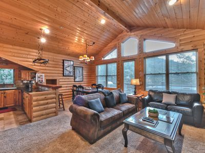Photo for True Ski Cabin Feel - 2 Bedroom/2 Bath with Hot Tub - Steps to Deer Valley Resort!