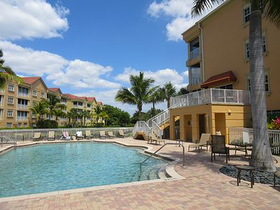 Photo for Luxury Island Condo At Bella Lago, Heated Pool, Fitness Room, Walk To Beach