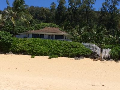 Photo for Beachfront Home at the world famous Banzai Pipeline