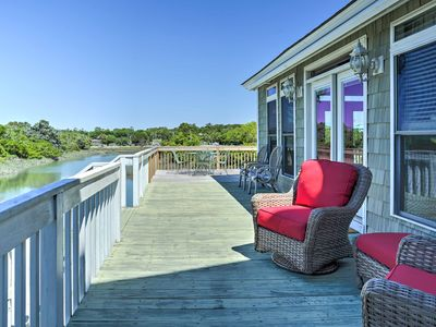 Photo for Waterfront North Myrtle Beach Home w/Floating Dock