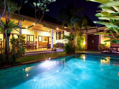 Photo for Star Comfortable 3 bed Villa, Seminyak