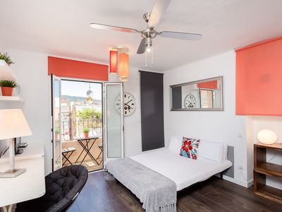Photo for Pleasant studio with balcony close to Camp Nou - Barcelona !