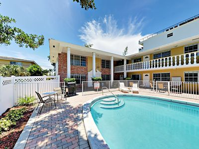 Photo for Large, dual level condo within walking distance to Pompano Beach