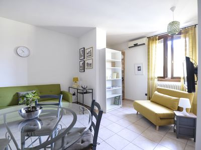Photo for Cozy and modern one bedroom apartment in Bologna