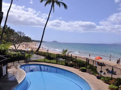 Ocean front pool and Keawakpu beach