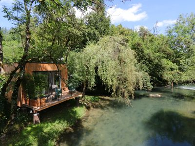 Photo for Cabane in Burgundy with Wi-Fi sleeps 2: original, nature, romantic weekend