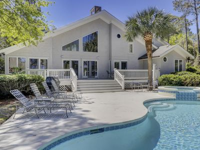 Photo for Southern Home W/ Private Pool, Foosball, 3 Master Suites, 2 Min. Walk To Beach!