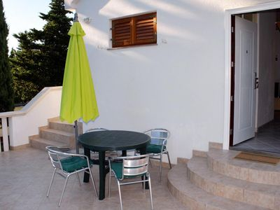 Photo for Studio flat with terrace Sabunike, Zadar (AS-5745-a)