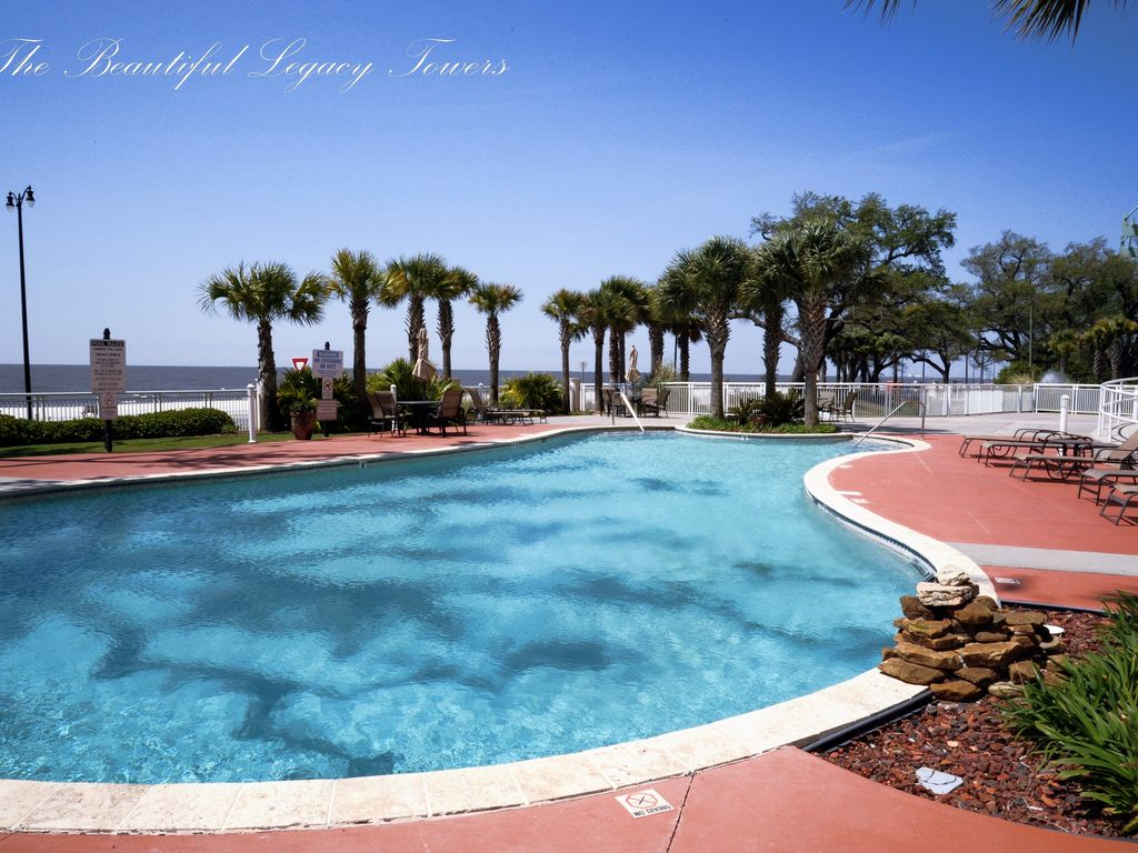 Legacy2-0803 Deluxe: New Beach Condo Home Away From Home. Air force ...