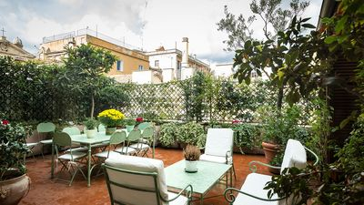 Photo for Perfect Spanish Steps Luxury-Gorgeous Large and Lush Terrace-Elevator-Free WiFi