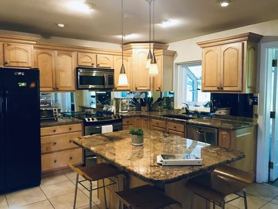 Open Kitchen that is great for gathering around and cooking together.
