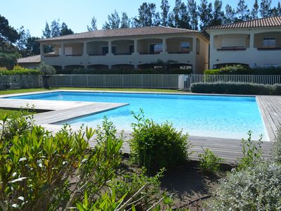 Photo for T2 apartment - BIG STANDING - air conditioning - swimming pool - terrace - beach 800m