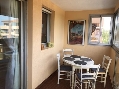 Photo for Comfortable apartment near the sea in a quiet area with shops