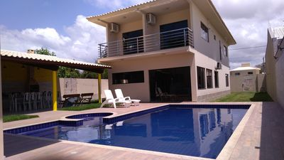 Photo for House in gated community! Security, Swimming Pool, WiFi and Leisure. Accommodates 25 people