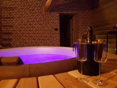 Photo for Bed and Breakfast, spa and sauna / hammam, dinners and breakfasts included.