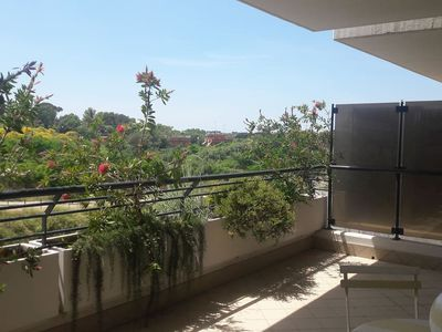 Photo for Comfortable Rome Aurelio apartment with sun terrace and whirlpool